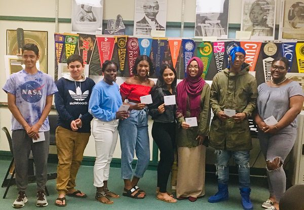 Winners of the Young Writer's Competition 2019