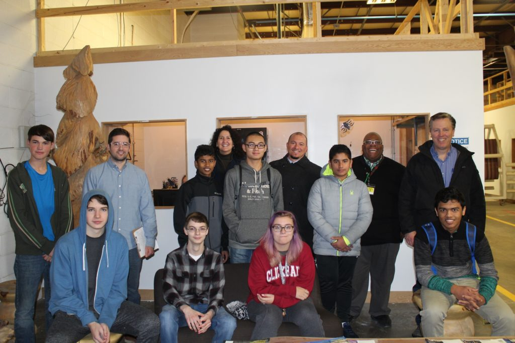 students at digifabshop