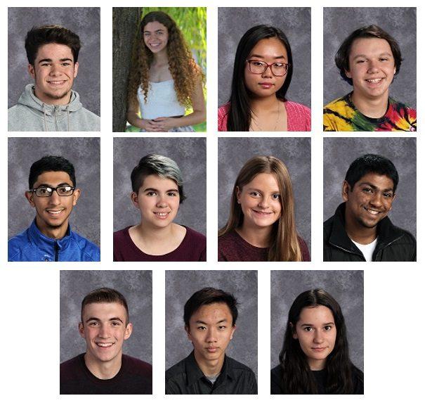photo grid of AP Scholars