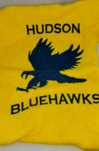 Hudson Bluehawks rally towel