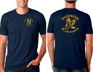 Hudson Bluehawks t-shirt