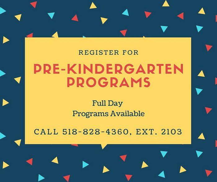 Register for Pre-K