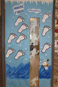 decorated classroom door