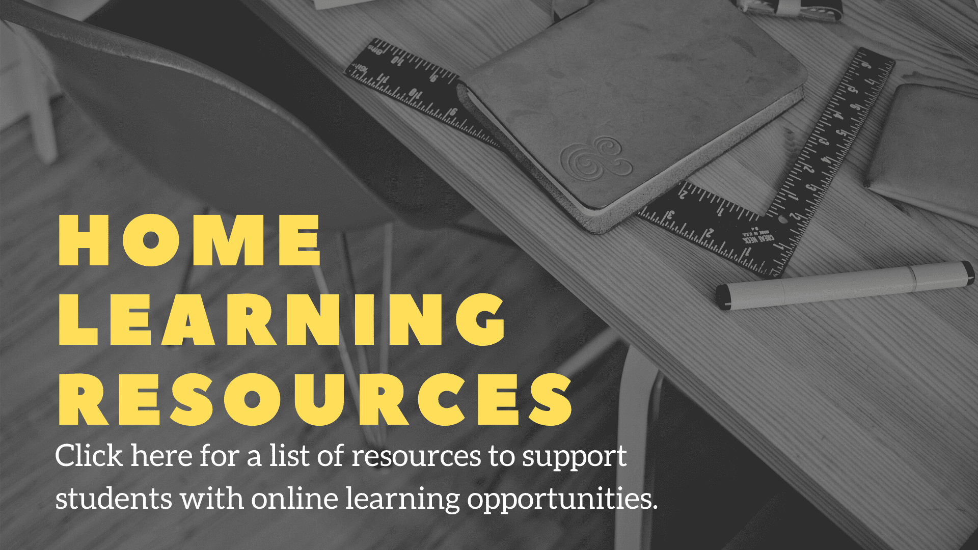 click for home learning resources
