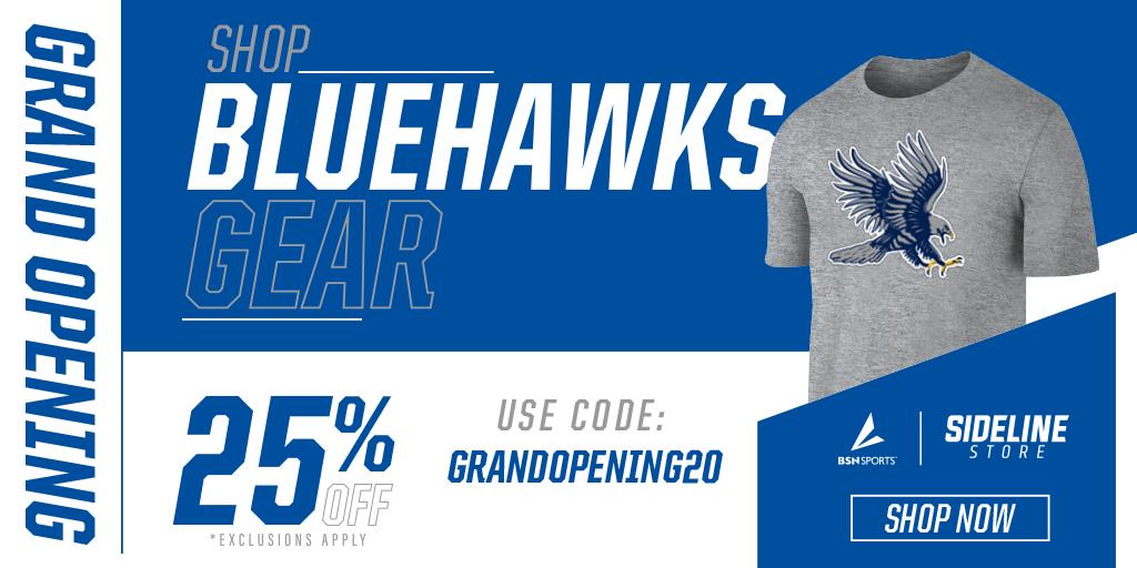 Shop Bluehawks Gear