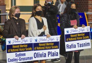 Sydnee, Olivia And Rafia
