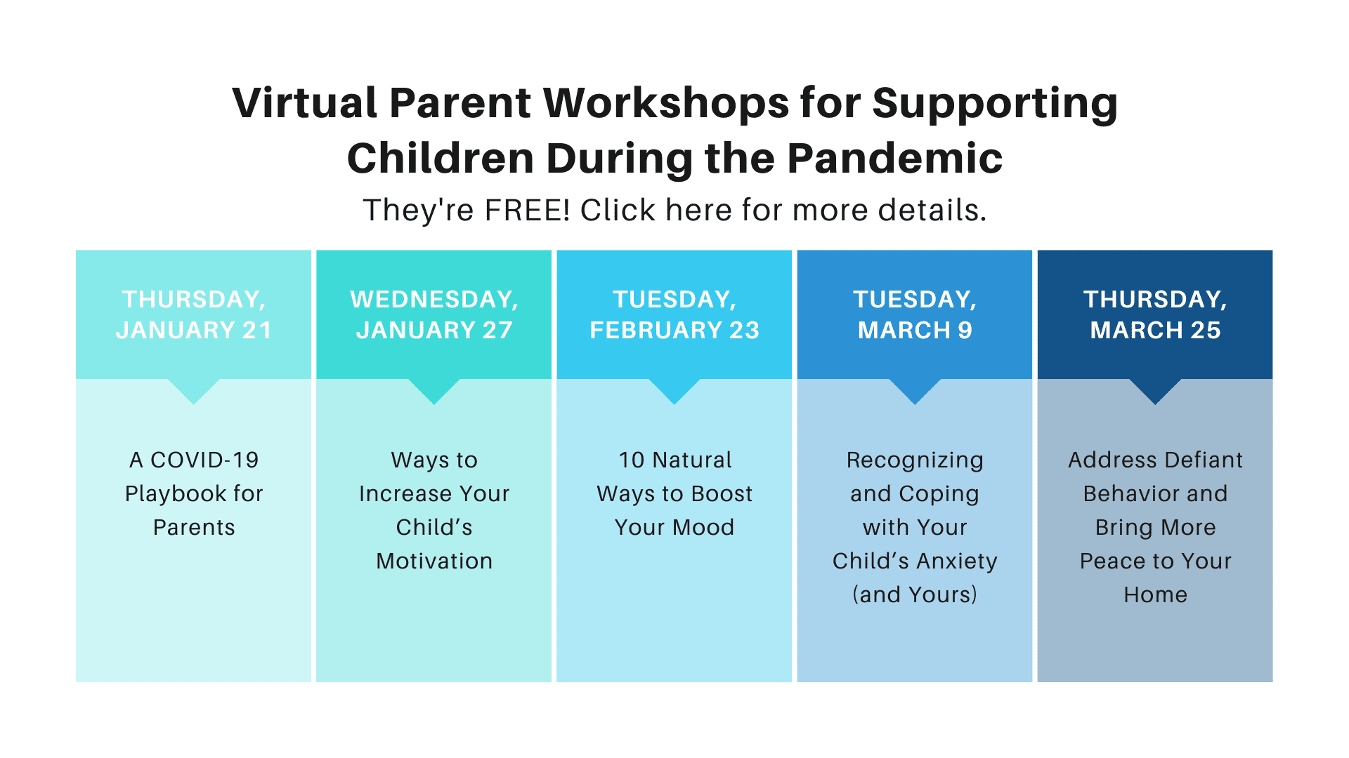 virtual parent workshops for supporting children during the pandemic