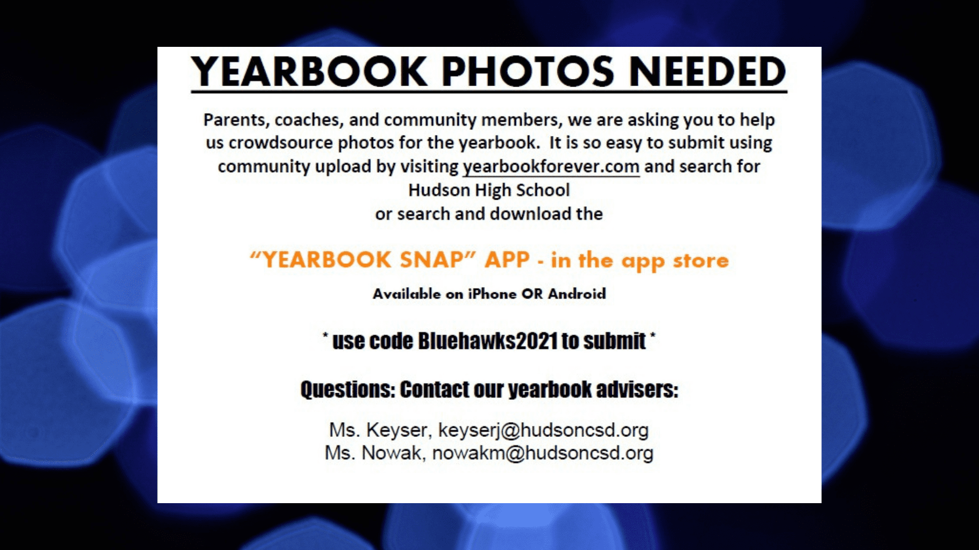 yearbook photos needed click here fore more information