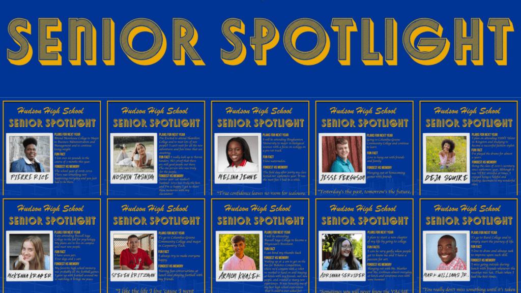 senior spotlight grid